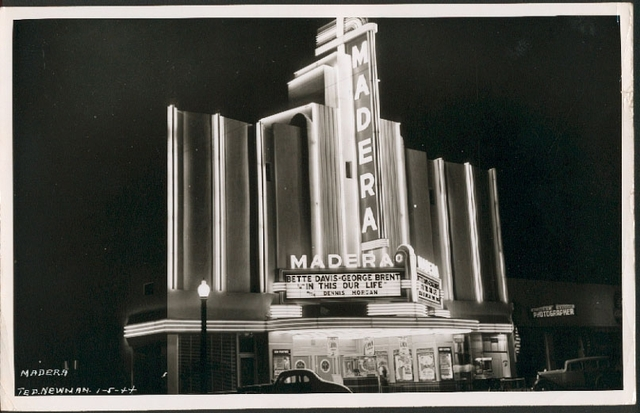 Madera Theater, 1-5-1944