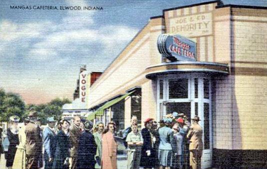 VOGUE (nee ALHAMBRA) Theatre; Elwood, Indiana.