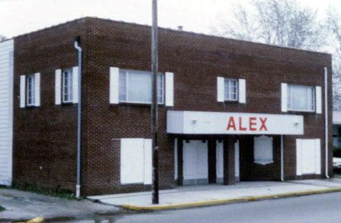 ALEX Theatre; Alexandria, Indiana.