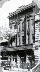 ANSONIA Theatre; Butte, Montana.