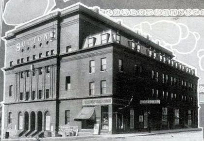 SUTTON'S BROADWAY (MONTANA) Theatre; Butte, Montana.