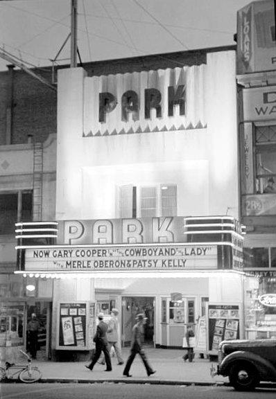 PARK Theatre; Butte, Montana.
