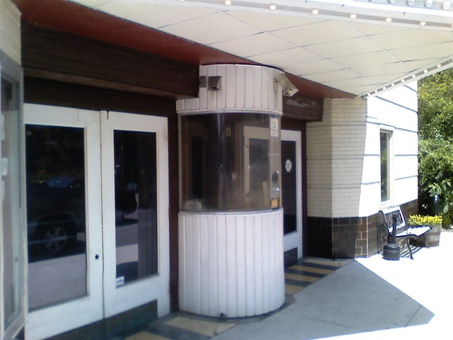Studio 35 Ticket Booth and Doors