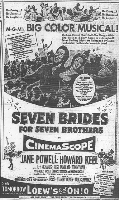 """Seven Brides for Seven Brothers"""