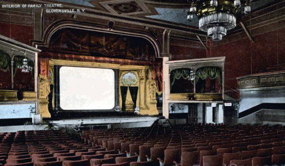 FAMILY Theatre; Gloversville, New York.