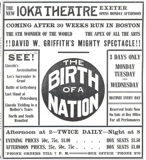 IOKA Opening Program (1915)