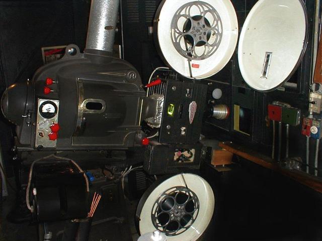 IOKA's Brenkert projector