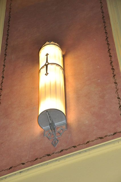 IOKA Interior, Wall Sconce detail