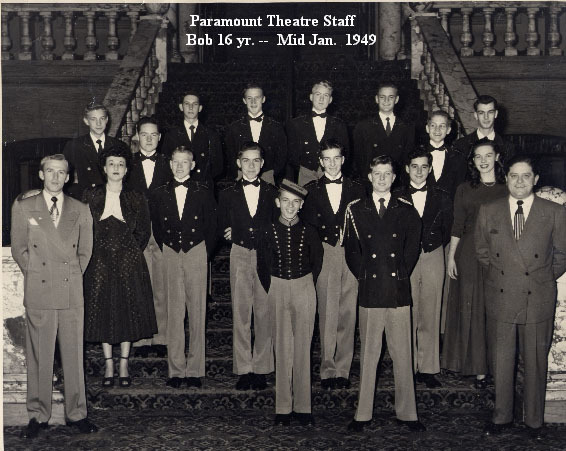 Paramount Ushers staff