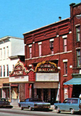 MALONE (GRAND, SCHINE) Theatre; Malone, New York.