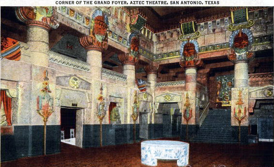 AZTEC Theatre; San Antonio, Texas.