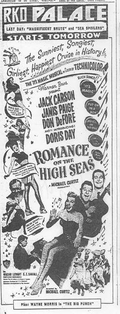 """Romance on the High Seas"""