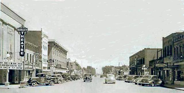 BURLEY Theatre; Burley, Idaho.