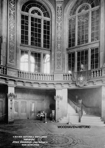 GRAND RIVIERA Theatre; Detroit, Michigan.