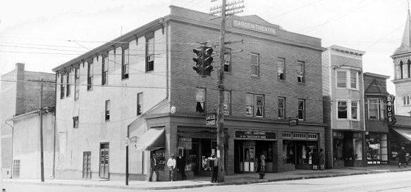 GARDEN Theatre; Frackville, Pennsylvania.