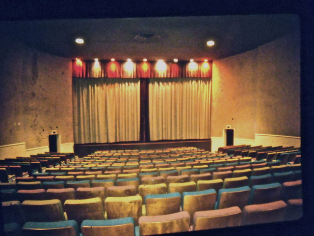 auditorium shortly before demolition