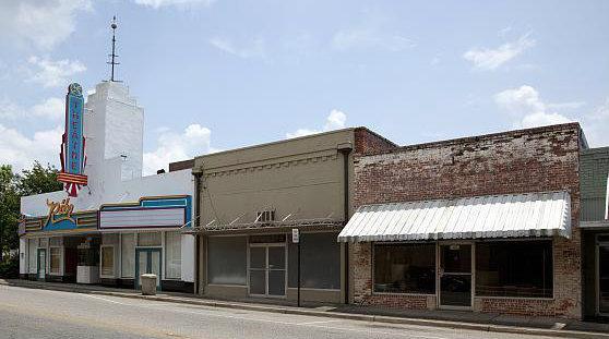 RITZ Theatre; Greenville, Alabama.