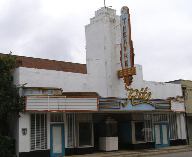 RITZ Theatre; Greenville, Alabama.