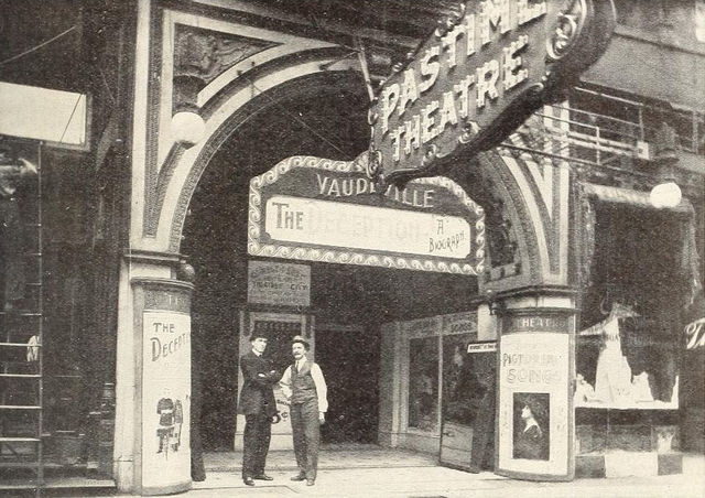 Pastime Theatre, Madison Street, Chicago