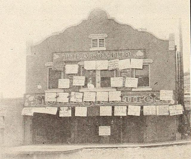 National Theatorium (later Rialto Theatre), Long Beach, California, 1910