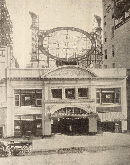Clune's Broadway Theatre, 1910