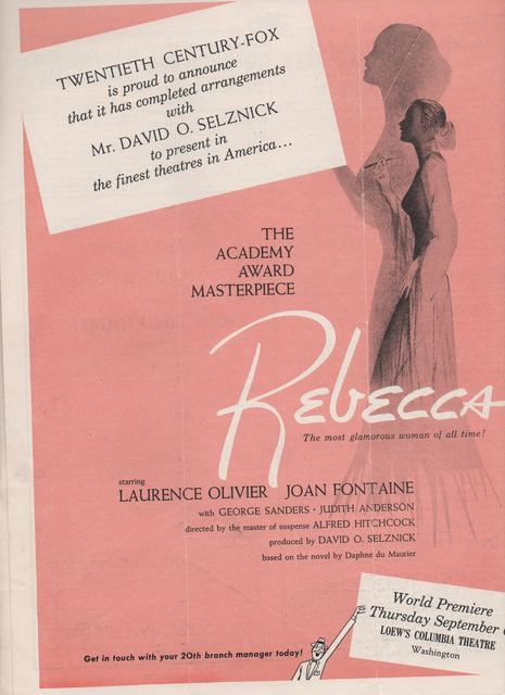 """""""Rebecca"""""""