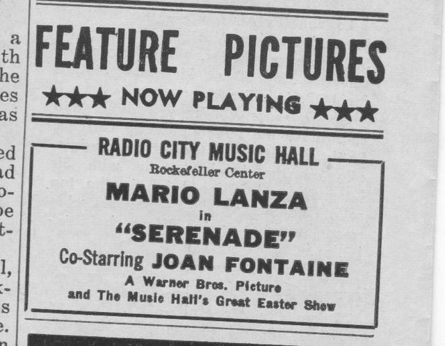 """""""Serenade"""""""