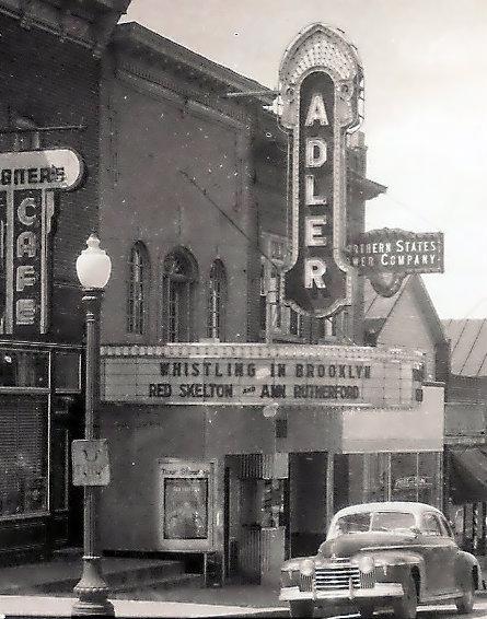 ADLER Theatre; Neillsville, Wisconsin.