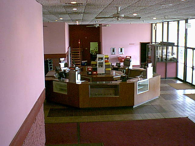 Lobby before remodel