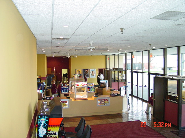 Lobby after remodel