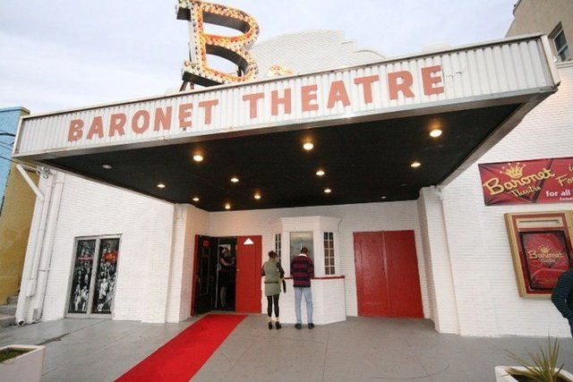 BARONET Theatre; Asbury Park, New Jersey.