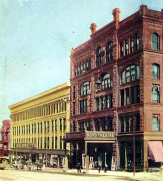 BOYD'S Theatre; Omaha, Nebraska.