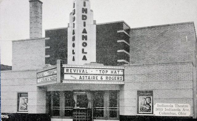 INDIANOLA Theatre; Columbus, Ohio.