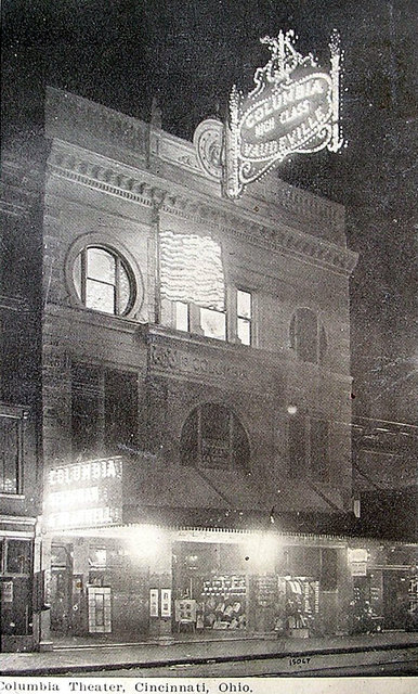 KEITH'S (COLUMBIA) Theatre; Cincinnati, Ohio.