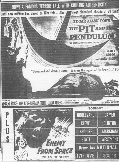 """The Pit and the Pendulum"