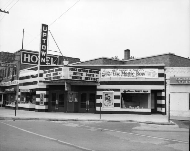Uptown Theatre 1950s