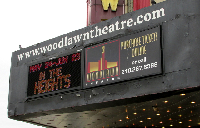 Woodlawn Marquee