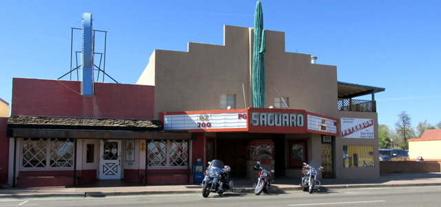 Saguaro Theatre Frontal View