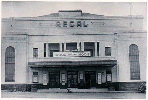"As  ""The Regal Cinema"""