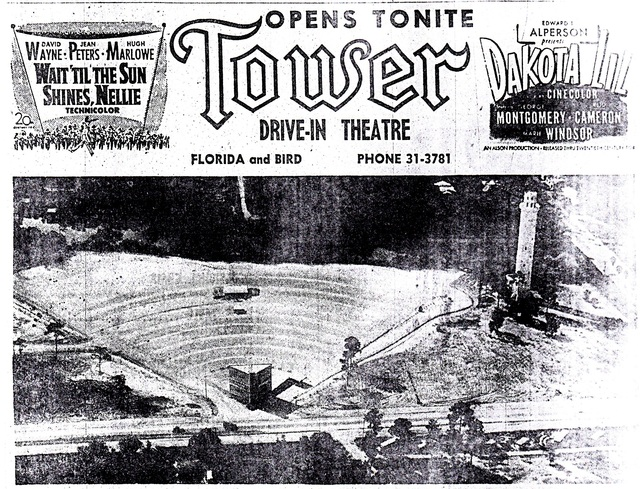 Tower Drive-In, Tampa, FL