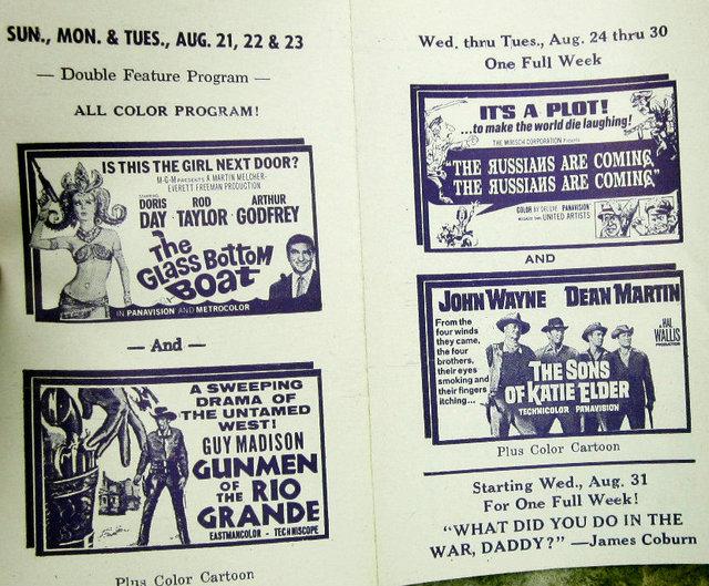 WINNEBAGO (BIG SKY) DRIVE-IN Theatre; Wisconsin Dells, Wisconsin.