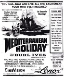 &quot;Mediterranean Holiday&quot; in CineVision