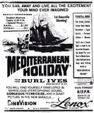 """""""Mediterranean Holiday"""" in CineVision"""