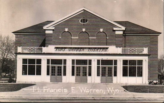 FORT WARREN Theatre; Warren Air Force Base, Cheyenne, Wyoming.