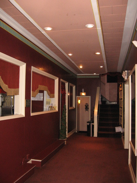 Lobby Ruffin Theater 2012