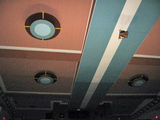 Ceiling of house from main floor Ruffin Theater