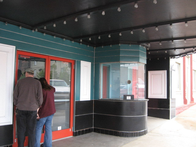 Box Office of Ritz Theater building