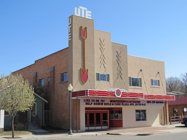 Ute Theatre - Rifle CO 1 4-27-13