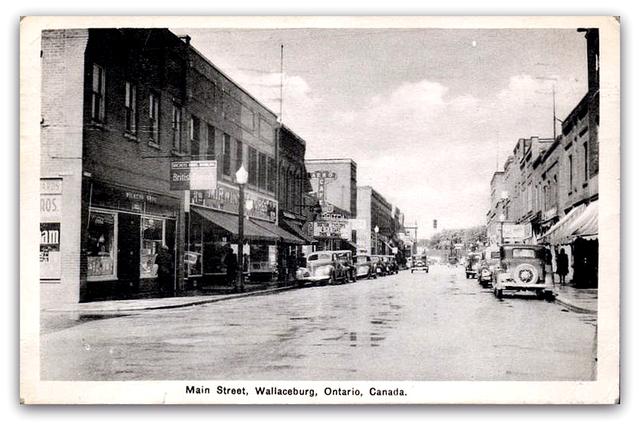 Capitol Theatre..Wallaceburg Ontario