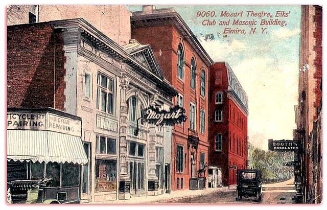 Mozart Theater..Elmira New York